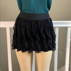 ❤❤ Rachel & Chloe Black Mini Skirt size S